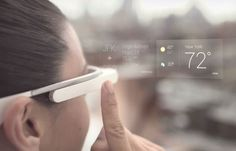 The future office tech trend Google Glass: Google Glass uses display technology to put data in front (or at least, to the upper right) of your vision courtesy of a prism screen.