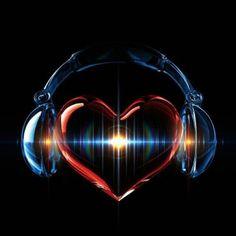 . Music Love via Headphones #headphones #cans #music #love #hearts http://www.pinterest.com/TheHitman14/headphones-microphones-%2B/