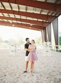 Adorable equestrian engagement shoot!