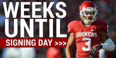 Oklahoma Football Countdown to Signing Day