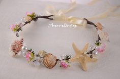Afbeeldingsresultaat voor seashell headband