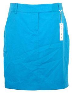 Trina Turk Womens Skirt NALIN Straight Pencil Career Azure Blue Sz 10 NEW $178 #TrinaTurk #StraightPencil