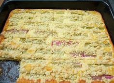 Schöner Tag noch!: Zum Niederknien: Rhabarber-Käse-Blechkuchen
