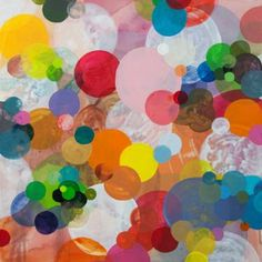 "Saatchi Art Artist Dennis Happé; Painting, ""Dotation #2"" #art"