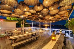 This Long Island hot spot is home to beach-chic decor, concerts by the likes of Patti Smith and the Flaming Lips, and beautiful water views. Chef Chris Rendell brings influences from his native Australia to the hotel's relaxed oceanside restaurant, creating dishes that highlight fresh seafood and other locally sourced ingredients. thesurflodge.com