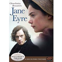 Jane Eyre Masterpiece Theater, starring Toby Stephens and Ruth Wilson.)This is my favorite version of this story. Toby Stephens is just wonderful. (Did you know he was Maggie Smith's son? Jane Austen, Jane Eyre Bbc, Jane Eyre Movie, Jane Eyre 2006, Toby Stephens, Beau Film, Period Drama Movies, Period Dramas, Charlotte Bronte Jane Eyre