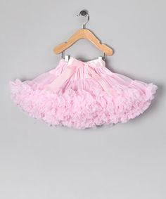 Take a look at this Light Pink Pettiskirt - Infant, Toddler & Girls by AdoraBelle Pettiskirts on #zulily today!