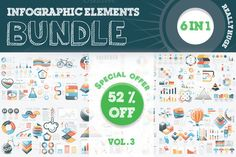 Posted by @newkoko2020 52% OFF Infographic Templates Bundle by Infographic Paradise on @creativemarket