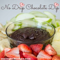 No Drip Chocolate Dip   Real Mom Kitchen