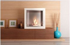 How many holiday songs talk about getting warm by the fire? With the Cube Jr. portable fireplace, you'll be roasting chestnuts in every room in the house. This easy-to-setup fireplace will brighten even the most bland holiday design, but it'll provide so much warmth, it'll burn all through winter.