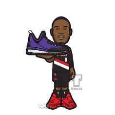 """Damian Lillard """"Overcoming All Odds"""" Tyke.From not being highly recruited out of high school, to being overlooked in college because he wasn't nationally covered while playing for Weber State, to not being selected to play for Team USA, to originally getting snubbed for a well deserved NBA All-Star spot, Dame Lillard continues to prove doubters wrong.And for a game that is celebrated to showcase the best talent in the country (McDonald's All-American Game), the players chosen for this…"""