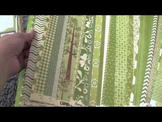 Scrap Room Organizing: Pattern Paper Organizing - YouTube; especially like her scrap paper storage towards the end of the video.