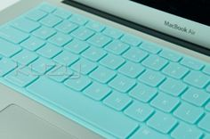 "Amazon.com: Kuzy - Solid Tiffany Hot Blue Keyboard Silicone Cover Skin for Macbook / Macbook Pro 13"" 15"" 17"" Aluminum Unibody: Computers & Accessories"