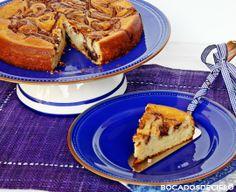 Cake de requesón y nutella
