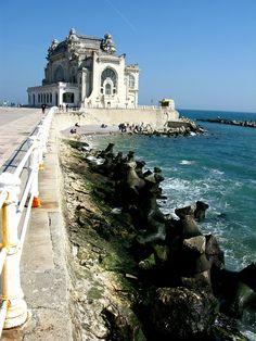 The Casino in Constanta on the Black Sea coast, Romania