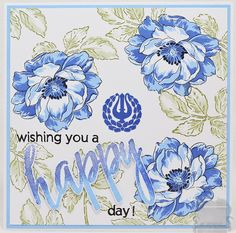 wishing you a happy day...