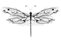 Dragonfly Stock Vectors, Royalty Free Dragonfly Illustrations | Depositphotos®