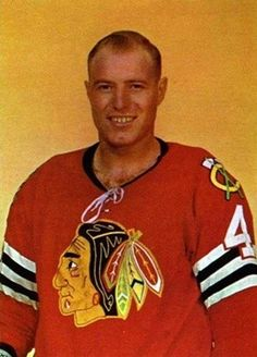 Since it looks like the Blackhawks my exit the playoffs early, I'll reminisce about the guys who made me a fan - Elmer 'Moose' Vasko Hockey Room, Women's Hockey, Blackhawks Hockey, Chicago Blackhawks, Hockey Players, Baseball, Maurice Richard, Final Four, National Hockey League