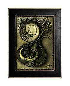 "EINGERAHMTER KUNSTDRUCK ""SAD SONG"" MARACHOWSKA ART von MARACHOWSKA ART, http://www.marachowska.com/"