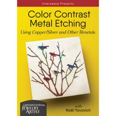Master metal etching, including exciting bimetal etching, and improve etched results with The Edinburgh Etch technique with Noel Yovovich. Precious Metal Clay, Spring Sign, Colorful Socks, Metal Working, Knitting Patterns, Contrast, Create, Copper, Silver