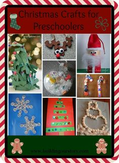 Christmas Crafts for 2 Year Olds | Let me know if you find any other crafts that your kiddos really enjoy ...