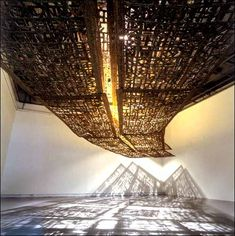 Installation de Cristina Iglesias