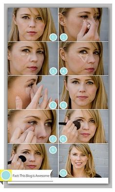 Under Eye Circle Quick Fix Tutorial by elvia