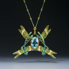 Rene Lalique Dragonfly Pendant