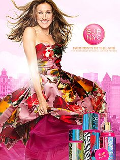 SJP NYC perfume releases just in time to purchase before 'Sex and the City 2' movie