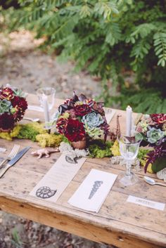 Un mariage couleurs dautomne {inspiration} Floral Centerpieces, Wedding Centerpieces, Wedding Table, Rustic Wedding, Wedding Decorations, Fall Wedding Colors, Autumn Wedding, Floral Wedding, Wedding Flowers