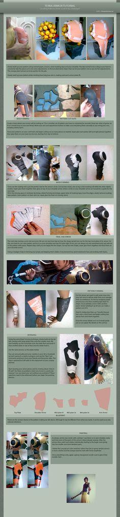Terra Tutorial: Armor by 23rdAngel.deviantart.com on @deviantART