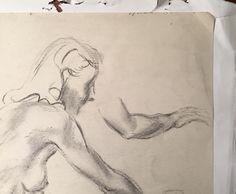 Augustus John Original Rare Signed Graphite Drawing Female Nude. #augustusjohn #eaglefineart