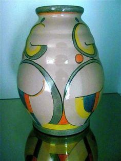 Velsen aardewerk vaas van Gellings