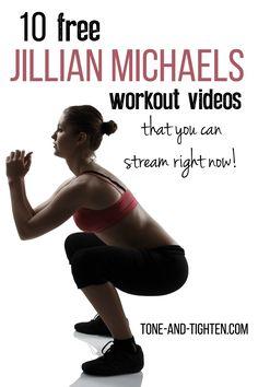10 of the Best Jillian Michael's FREE Full-Length Workout Videos