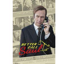 Better Call Saul Poster Collage. Hier bei www.closeup.de