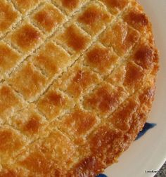 Dutch Buttercake (Boterkoek) -Easy to make and very popular!