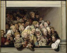 1830 L L Boilly Une loge, un jour de spectacle gratuit,