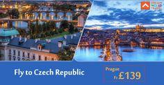 Find Great Deals on Flights to Czech Republic from Dream World Travel.Get  cheap Flight Deals, Holiday Deals and Hotel Deals to your Favourite  destinatons worldwide at www.dwtltd.com. #CheapFlights #Flights #Deals  #To #CzechRepublic