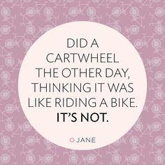 Ya… pretty sure I DID NOT nail that one.  #truth #cartwheel #veryjane