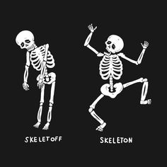 Check out this awesome 'Skeletoff+Skeleton' design on @TeePublic!