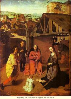 Gerard David. The Nativity.