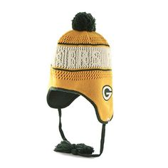 best service 86f4e 341cd NFL 47 Brand Malory Women s Tassel Knit Hat with Pom (OSF… Green Bay Packers