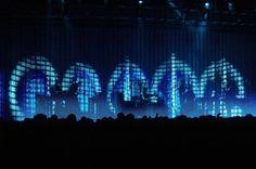Moment Factory Creates A Landscape Of Pixels For Nine Inch Nails Tour | The Creators Project