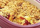 Lemon-Cherry Crumble Cake - The Pampered Chef® in the Deep Covered Baker! Still one of the most loved Pampered Chef products!