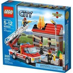 Đồ chơi LEGO 60003 Fire Emergency – Đội cảnh sát cứu hoả