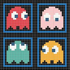 Ravelry: Pac Man Chart pattern by Susan Parmeter