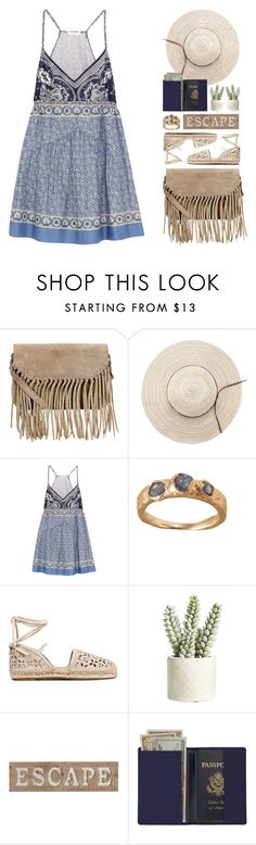 """chloé mini dress"" by jesuisunlapin ❤ liked on Polyvore featuring Accessorize, Chloé, MICHAEL Michael Kors, Allstate Floral, Pier 1 Imports and Royce Leather"
