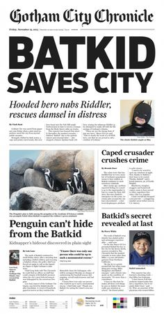 Today, San Francisco transforms into Gotham City, as 5-year old Miles (a.k.a. #SFBatkid) fights crime around the city as part of a Make-a-Wish event. He'll even foil the Penguin's plot to hide among our penguin colony!