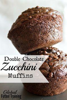 Double Chocolate Zucchini Muffins http://www.gftskills.org/double-chocolate-zucchini-muffins-whole-grain-egg-free/