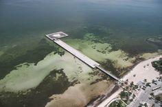 White Street Pier, Key West ~ Aerial view